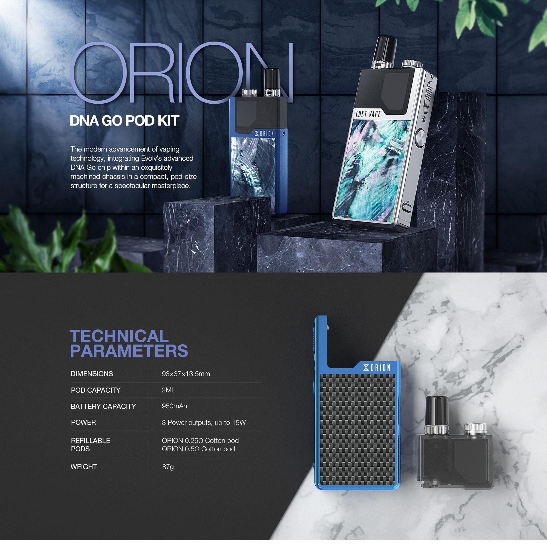 ORION DNA GO POD KIT – Lost Vape